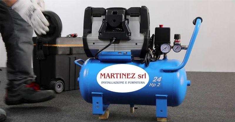 MARTINEZ SRL Ozieri - offerta compressori elettrici ad aria compressa