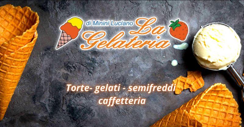 Offerta vendita torte e semifreddi Gianico - occasione gelateria e caffetteria Brescia