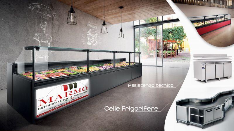 Offerta servizio professionale Installazione banchi frigo per locali a Salerno - Marmo srl