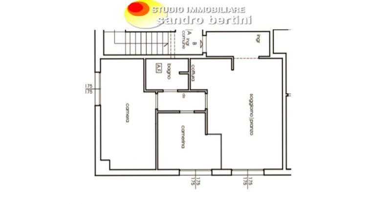 offerta appartamento ristrutturato tre locali Salivoli - STUDIO IMMOBILIARE BERTINI