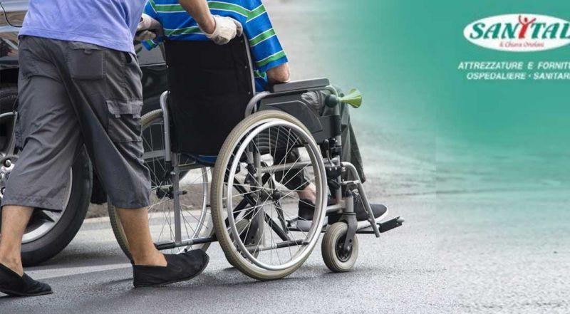 Occasione noleggio carrozzine disabili Anzio - Offerta vendita sedie a rotelle Roma
