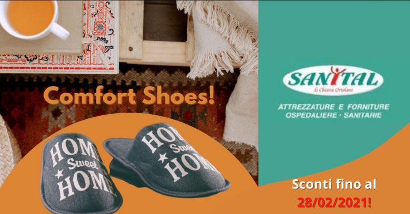 SANITAL Offerta scarpe ortopediche scontate pomezia - occasione negozio scarpe ortopediche roma