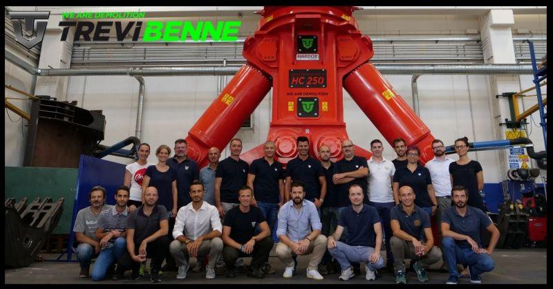 Trevi Benne Promozione produzione commercializzazione attrezzature macchine movimento terra
