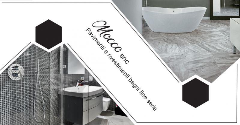 Offerta servizio realizzazione pavimenti e rivestimenti bagni fine serie a Canavese - Mocco snc