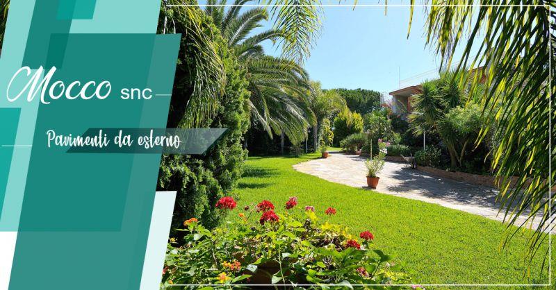 Offerta pavimento per esterno casa Canavese - Promozione pavimenti per giardino Canavese