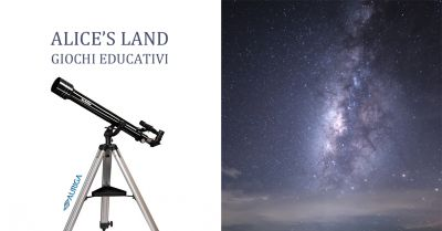 alice s land giochi educativi offerta telescopi auriga occasione telescopio amatoriale