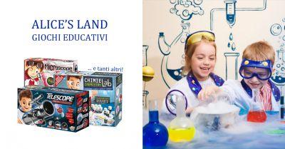 alice s land offerta giochi scientifici torino occasione giochi scientifici ragazzi