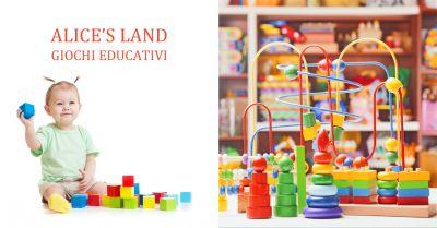 alice s land offerta giochi in legno per bambini tutte eta occasione giocattoli in legno