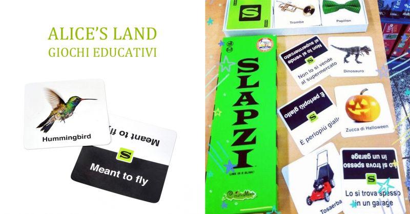 ALICE'S LAND GIOCHI EDUCATIVI - offerta slapzi gioco di societa torino rivoli