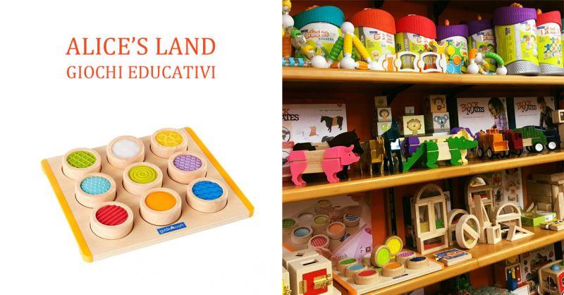 ALICE'S LAND GIOCHI EDUCATIVI - offerta giochi didattici montessoriani torino