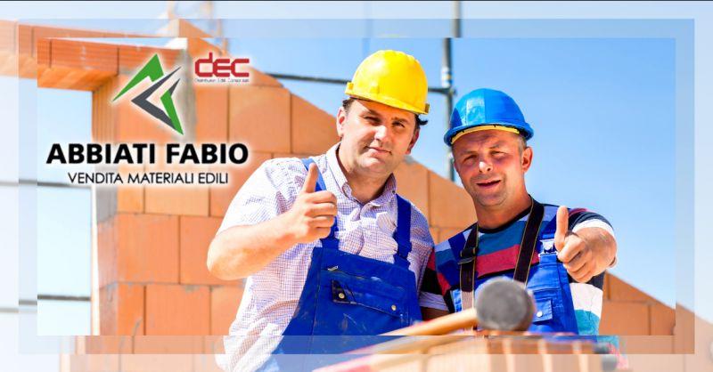 Offerta vendita materiale per edilizia Bergamo - occasione fornitura attrezzatura edile Bergamo