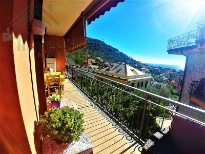 offerta vendita trilocale occasione vendita ampio appartamento con terrazza vista mare