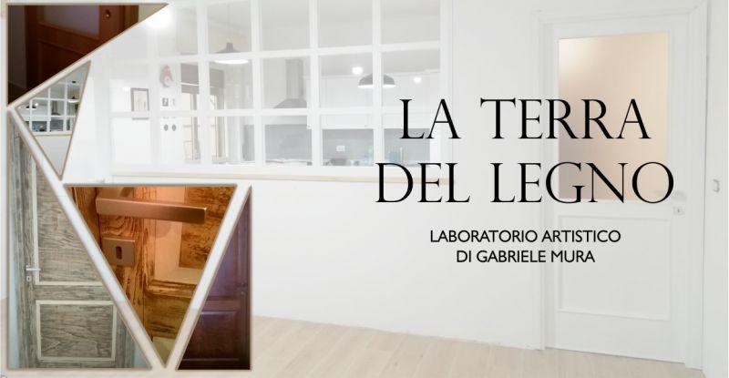TERRA DEL LEGNO - offerta realizzazione porte e vetrate legno su misura scorrevoli e battente
