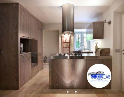 offerta cucine moderne con penisola su misura promozione realizzazione cucine personalizzate