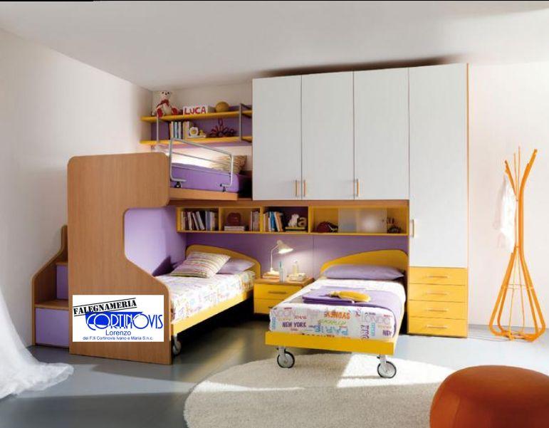offerta arredamento camerette su misura-promozione progettazione arredi a misura per zona notte