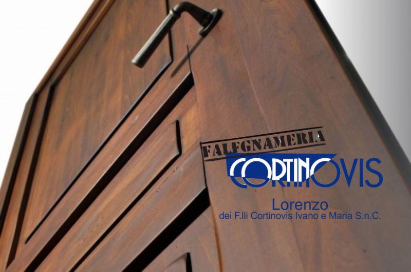 FALEGNAMERIA CORTINOVIS offerta realizzazione porte interne -promozione porte interne su misura