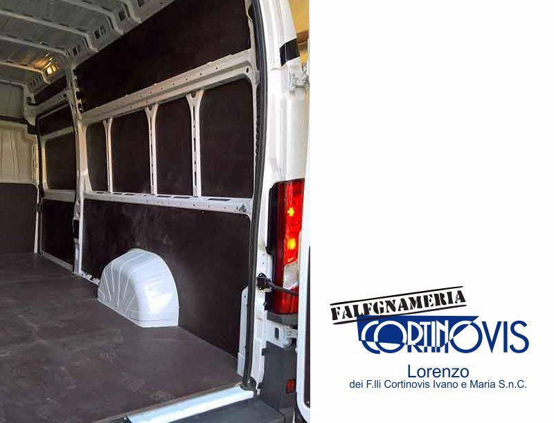 FALEGNAMERIA CORTINOVIS offerta rivestimento furgoni ?