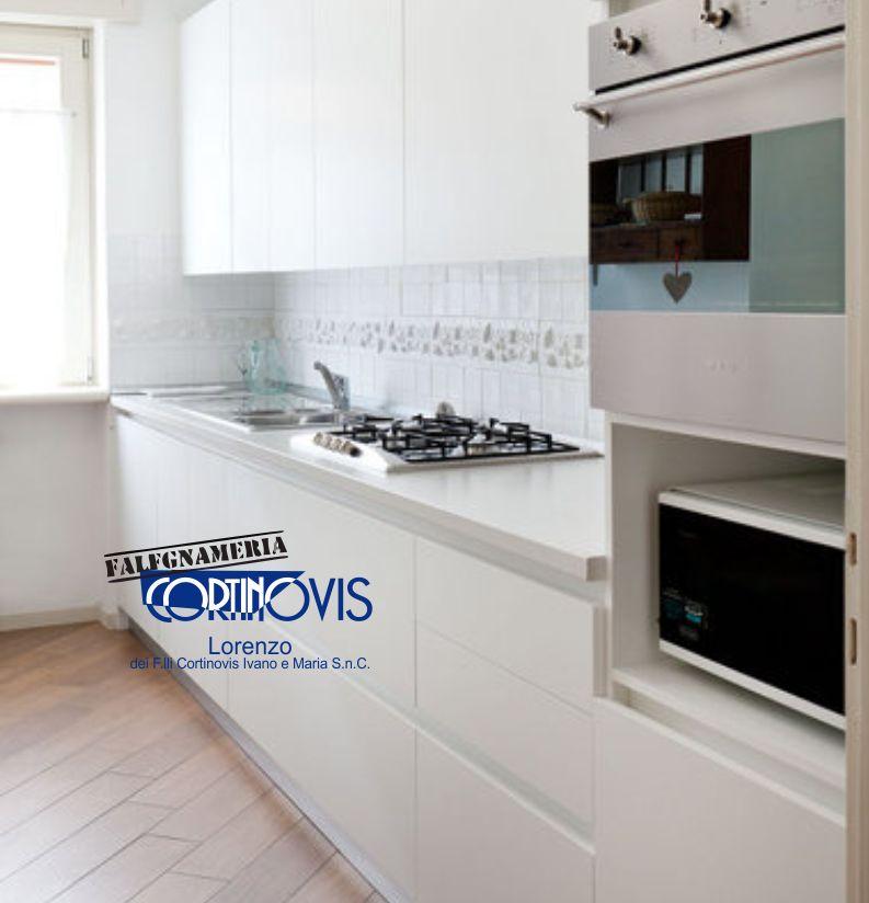 FALEGNAMERIA CORTINOVIS LORENZO offerta cucina su misura total white - promo cucine moderne