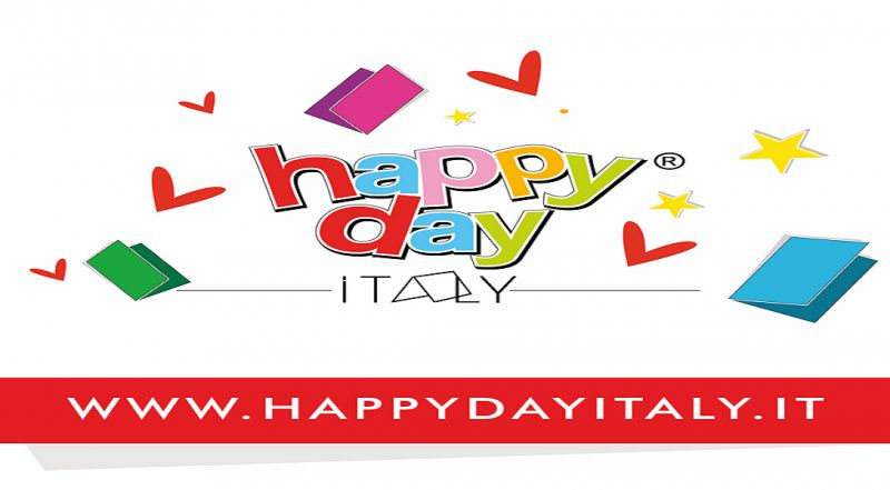 Happy day Italy offerta biglietti augurali - occasione biglietto auguri divertente Napoli