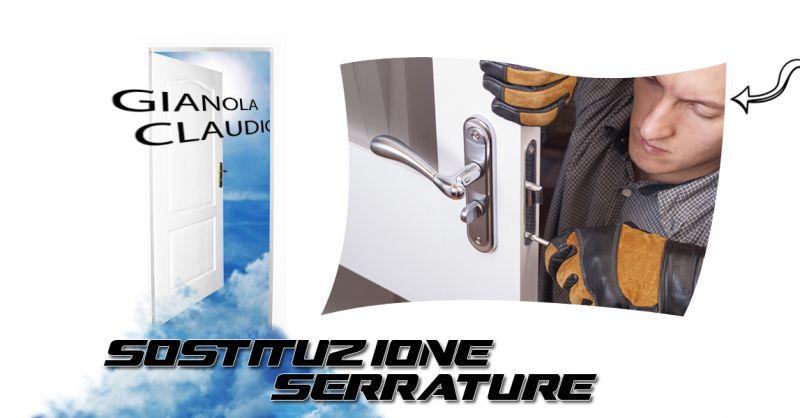 Offerta  centro specializzato sostituzione riparazione serrature a Canavese - Gianola Claudio