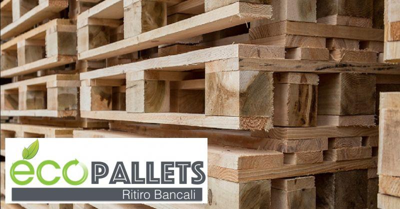 ECOPALLETS offerta restauro bancali in legno a Verona - occasione servizio ritiro pallet Verona