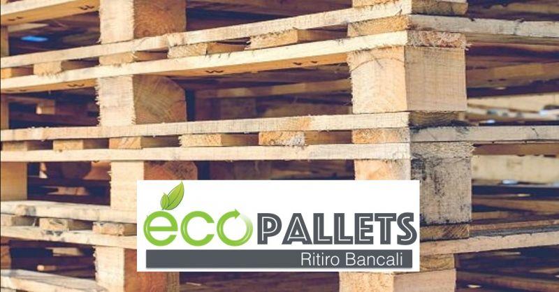 ECOPALLETS offerta riparazioni pallets a domicilio Verona - occasione servizio ritiro bancali