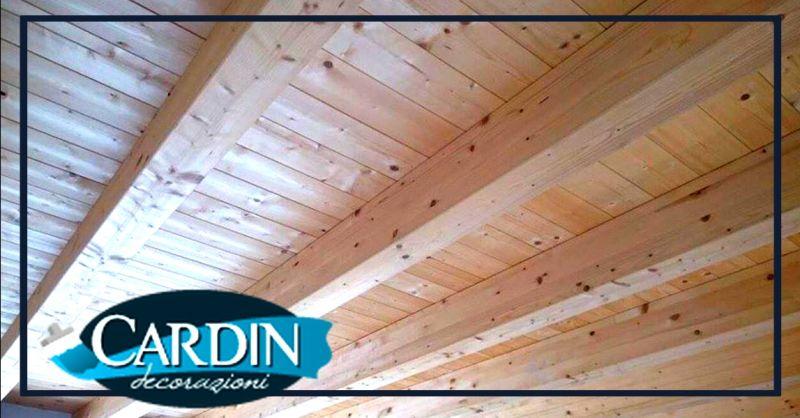 Promozione trattamenti per travi in legno - occasione verniciatura protettiva travi Verona