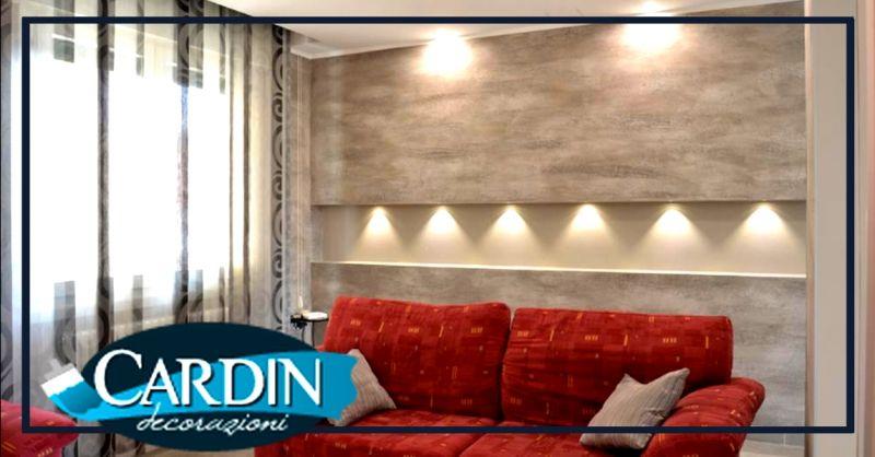 CARDIN DECORAZIONI - Offerta controsoffitti e pareti divisorie in cartongesso fonoassorbenti Verona