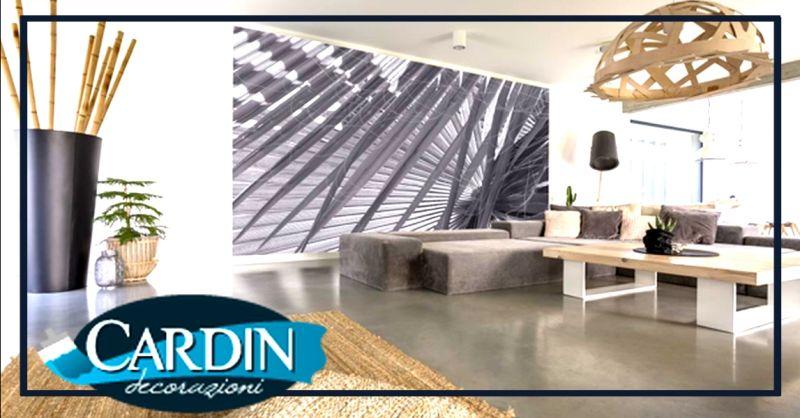 CARDIN DECORAZIONI - Promozione rivestimenti in resina per pareti e pavimenti Verona