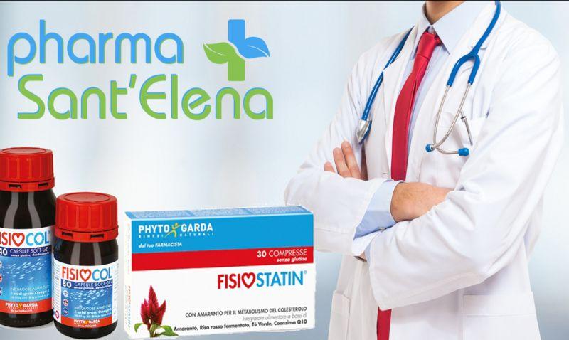 offerta integratori colesterolo phyto garda - sconto compresse fisiostatin fisiocol omega 3