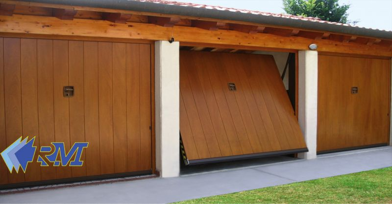 offerta Produzione porte basculanti Roma - occasione vendita serrande avvolgibili per garage