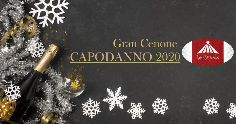 RISTORANTE PIZZERIA LE CUPOLE BORORE - offerta cenone di capodanno 2020 menu