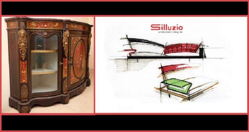 SILLUZIO ARREDAMENTI Offer of prestigious sale production made in italy-Sale of sale made Italy