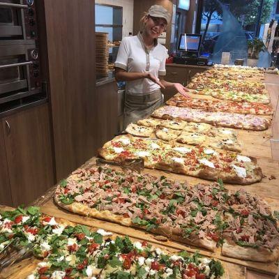 pizza cotta su pietra centobuchi