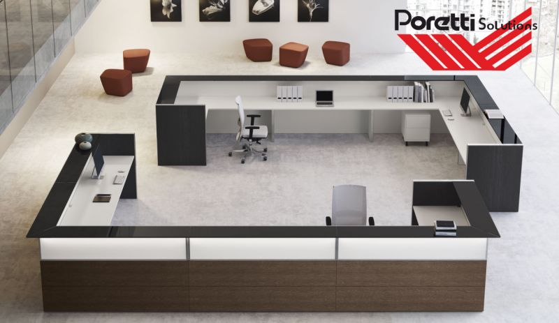 offerta nice arredamento reception-promozione sistema di ricevimento di design