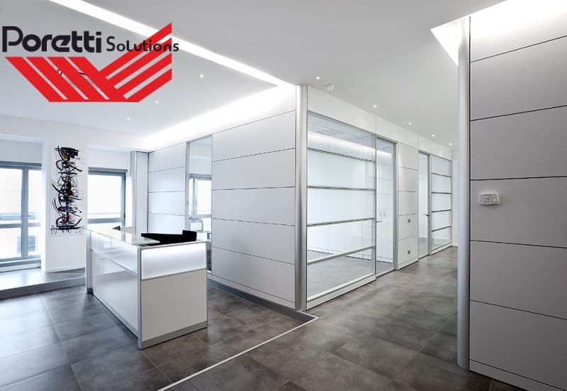 offerta pareti divisorie modulari per uffici-promozione pareti divisorie per aziende
