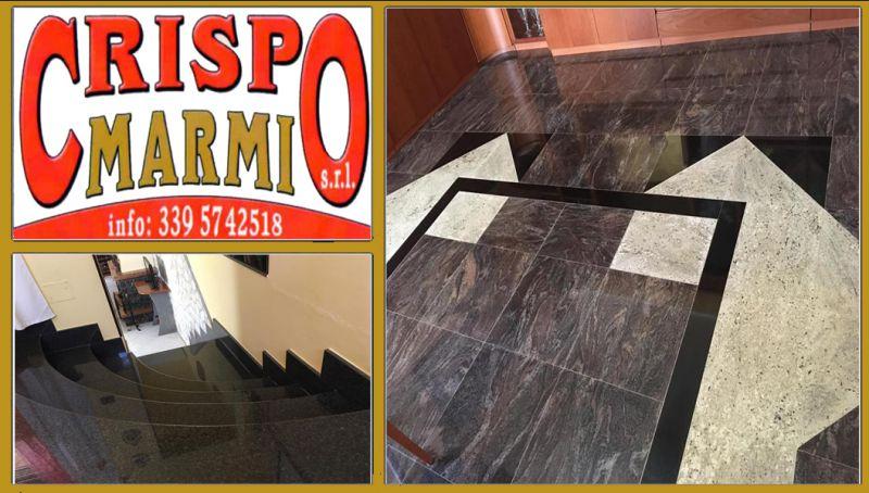 Offerta realizzazione scale in marmo catanzaro - offerta pavimenti in marmo catanzaro