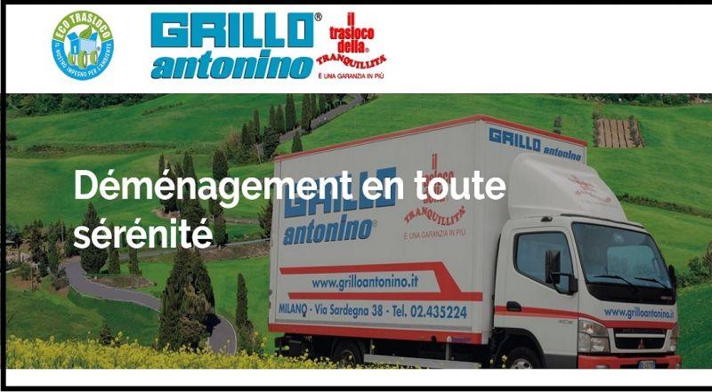 Grillo Antonino Traslochi occasion service prix demenagement france italie