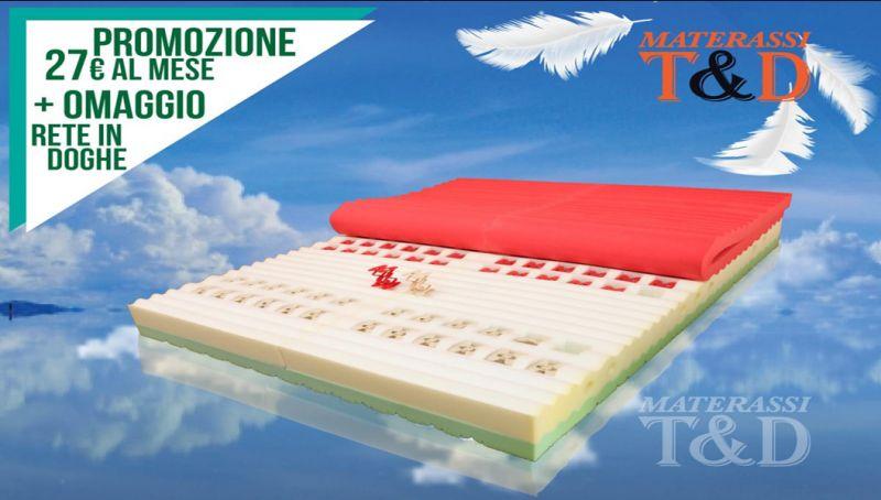 Offerta materasso matrimoniale memory foggia - omaggio rete doghe materasso lattice cerignola