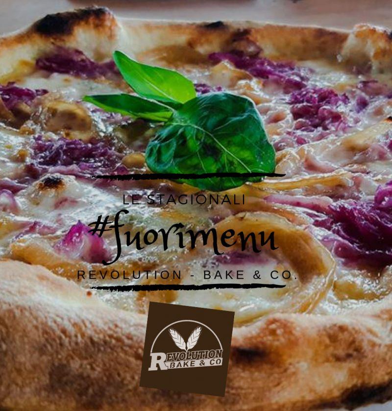 REVOLUTION BAKE e CO offerta pizzeria fuori menu - promozione pizza gusti speciali stagionali