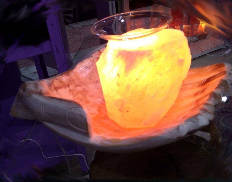 Offerta lampade di sale rosa himalayano Promozione in corso decorazione casa arredo interni