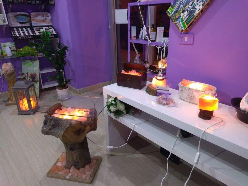 offerta trasformazione lampade di sale rosa himalayano taranto - bio profumeria arredamento