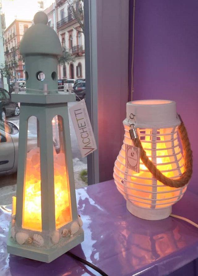 Offerta lampade di sale rosa himalayano. Promo in corso
