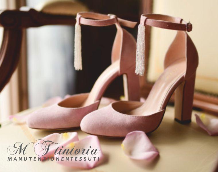 offerta lavaggio calzature professionale-promozione smacchiatura scarpe