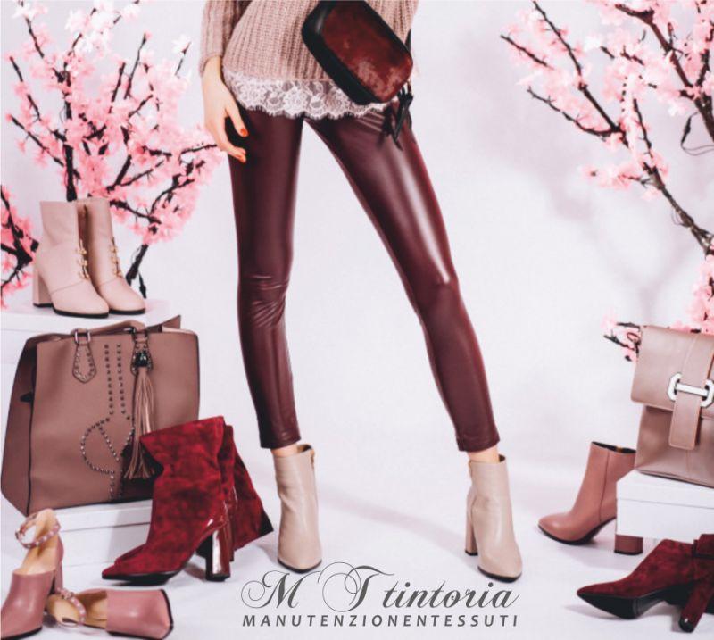MT TINTORIA offerta lavaggio professionale stivali - promozione lavaggio scarpe