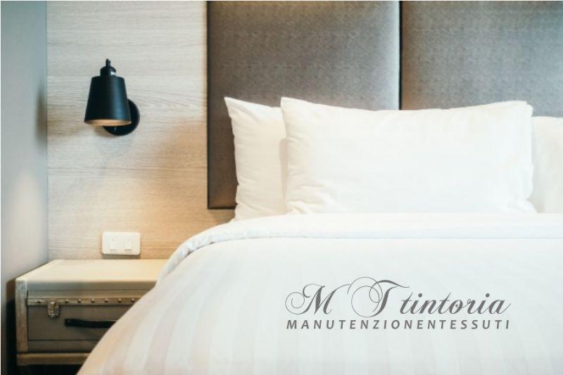 MT TINTORIA offerta lavaggio guanciali - promozione sanificazione cuscini