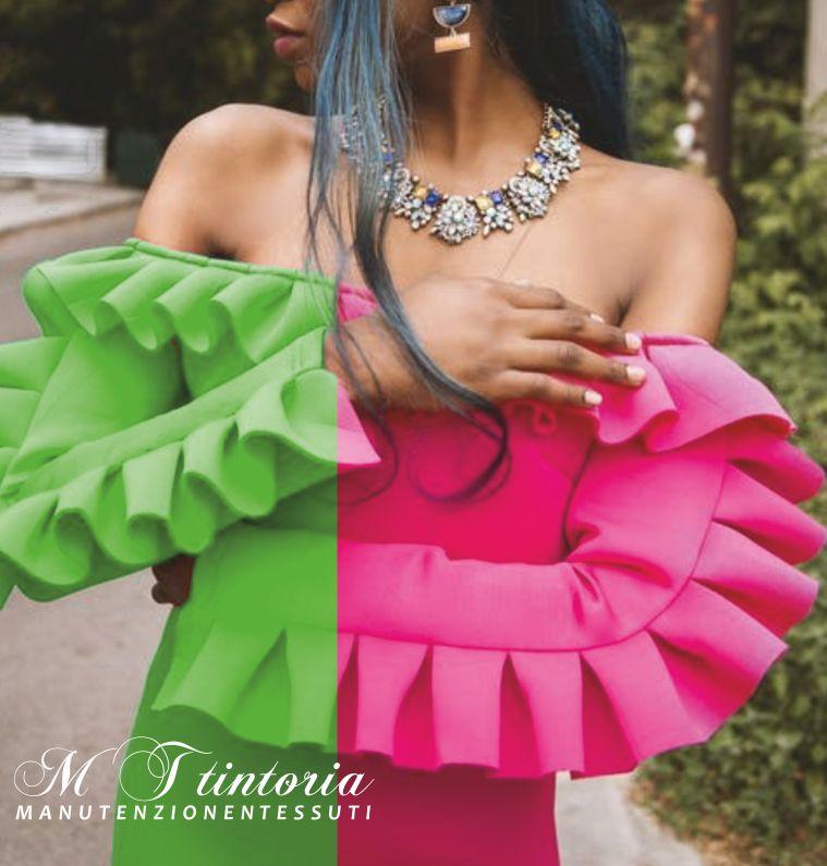 MT TINTORIA offerta cambio colore abiti - promozione trattamento rigenerazione abiti