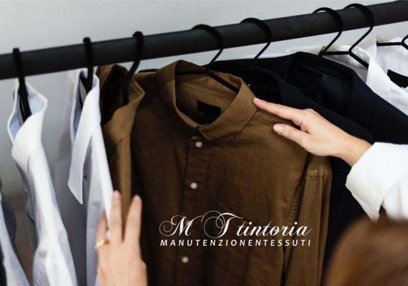 MT TINTORIA offerta lavaggio girocollo camicie - promo lavaggio professionale macchie difficili