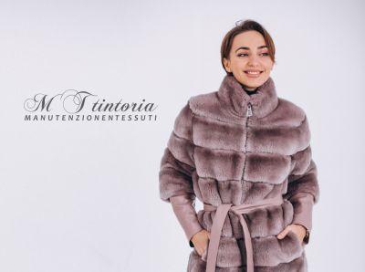 mt tintoria offerta lavaggio pellicce promo sanificazione accessori con inserti in pellicce