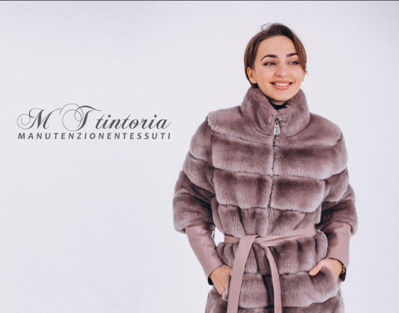 MT TINTORIA offerta lavaggio pellicce - promo sanificazione accessori con inserti in pellicce